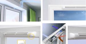 Клапаны приточной вентиляции для пластиковых окон