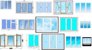 Трехстворчатое окно - размеры, нагрузки и ограничения по ГОСТу