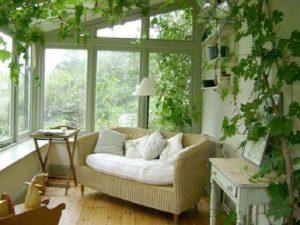 Лоджия в стиле прованс - сочетание с другими интерьерами, ремонт балкона