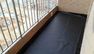 Гидроизоляция балкона своими руками: пошаговая инструкция, фото и видео материал