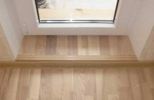 Как сделать и установить порожек на балкон самому: советы и рекомендации по выбору материала