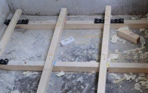 Лаги для пола на балконе: как установить, советы по монтажу