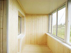 Обшивка балкона вагонкой своими руками: принцип облицовки балкона изнутри