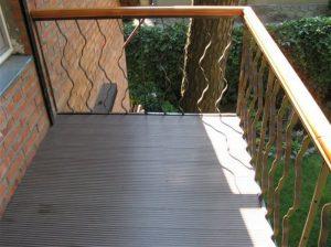 Что постелить на пол открытого балкона - варианты заливки пола