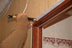 Стандартные размеры дверных межкомнатных или входных коробок