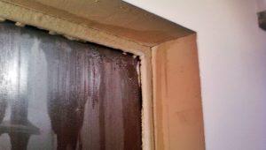 Конденсат на входной металлической двери - что делать, способы устранения