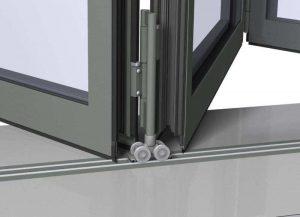 Складные механизмы для дверей: инструменты для установки и детали конструкции