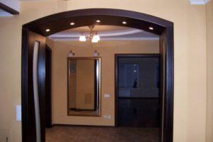 Установка арки в дверной проем своими руками: особенности выполнения арочной конструкции
