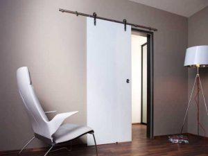 Дверь навесная на роликах межкомнатная - фурнитура для двери, плюсы и минусы использования