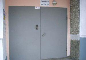Подъездные входные металлические двери - как замерить, советы по подбору полотна