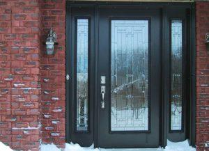 Двери стеклянные входные из алюминиевого профиля: плюсы и минусы, храктеристики