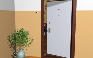 Входные двери внутреннего открывания: плюсы и минусы