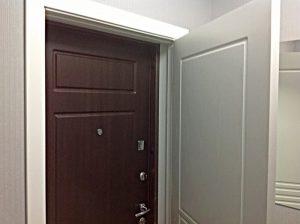 Вторая входная дверь в квартиру - способы установки с одной и несколькими коробками